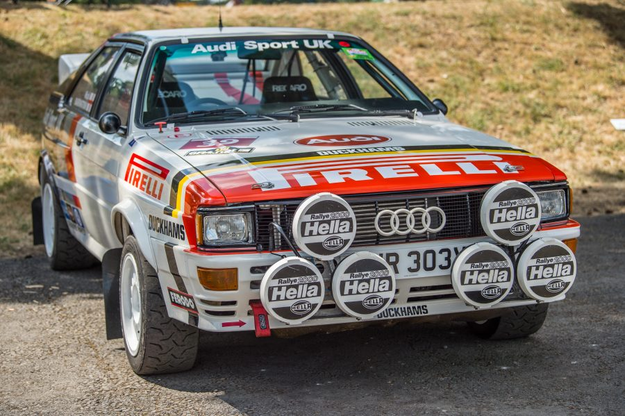 Audi Type B Rally Car at the Chateau Impney event attended by our classic car finance team.
