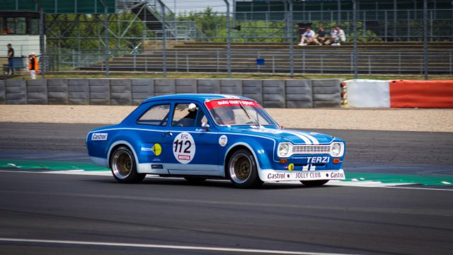 Classic Ford race car