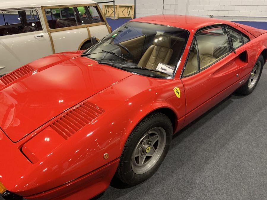 Classic Red Ferarri