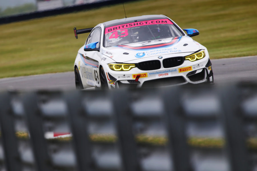 BMW 3 Series During Race