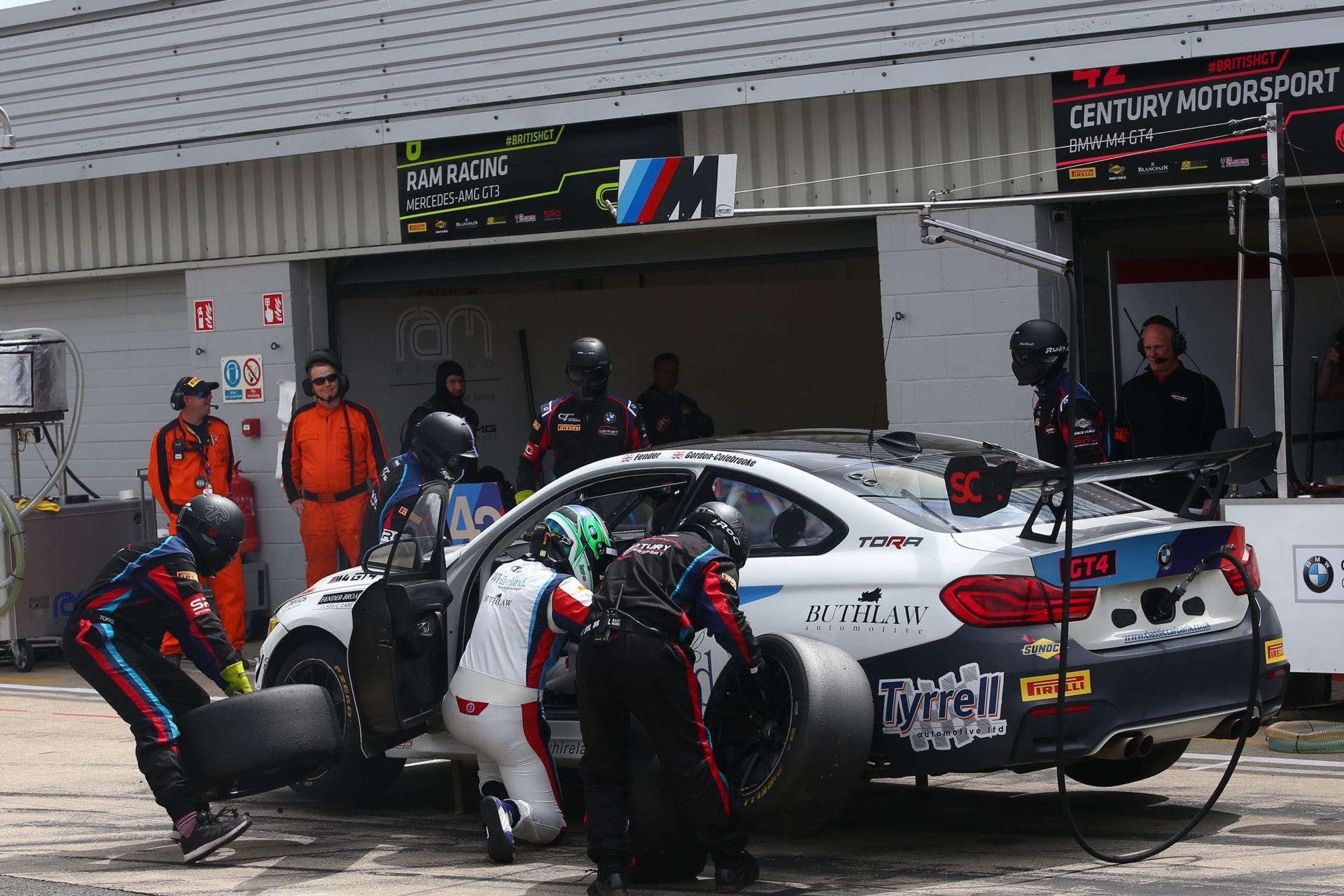 BMW 3 Series In The Pits