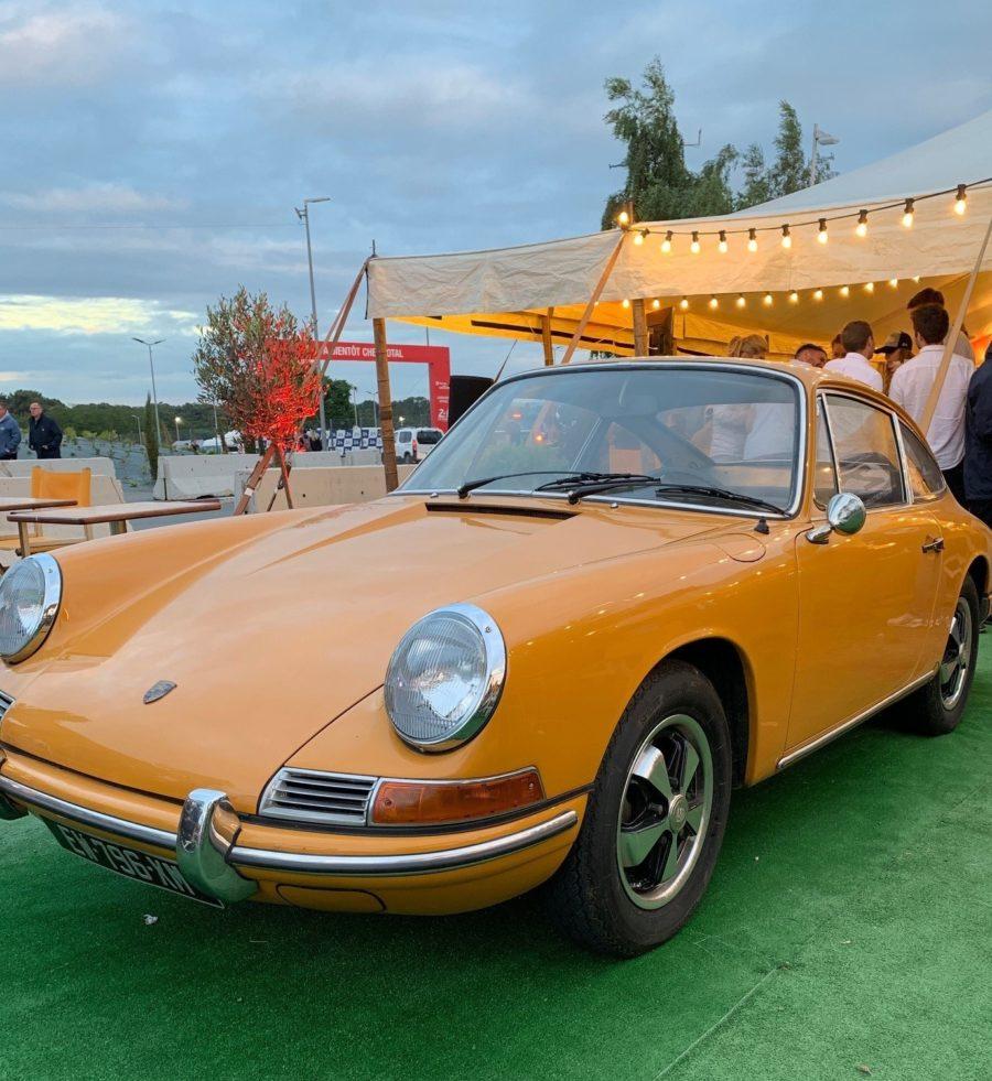 Vintage Porsche 911 at Le Mans