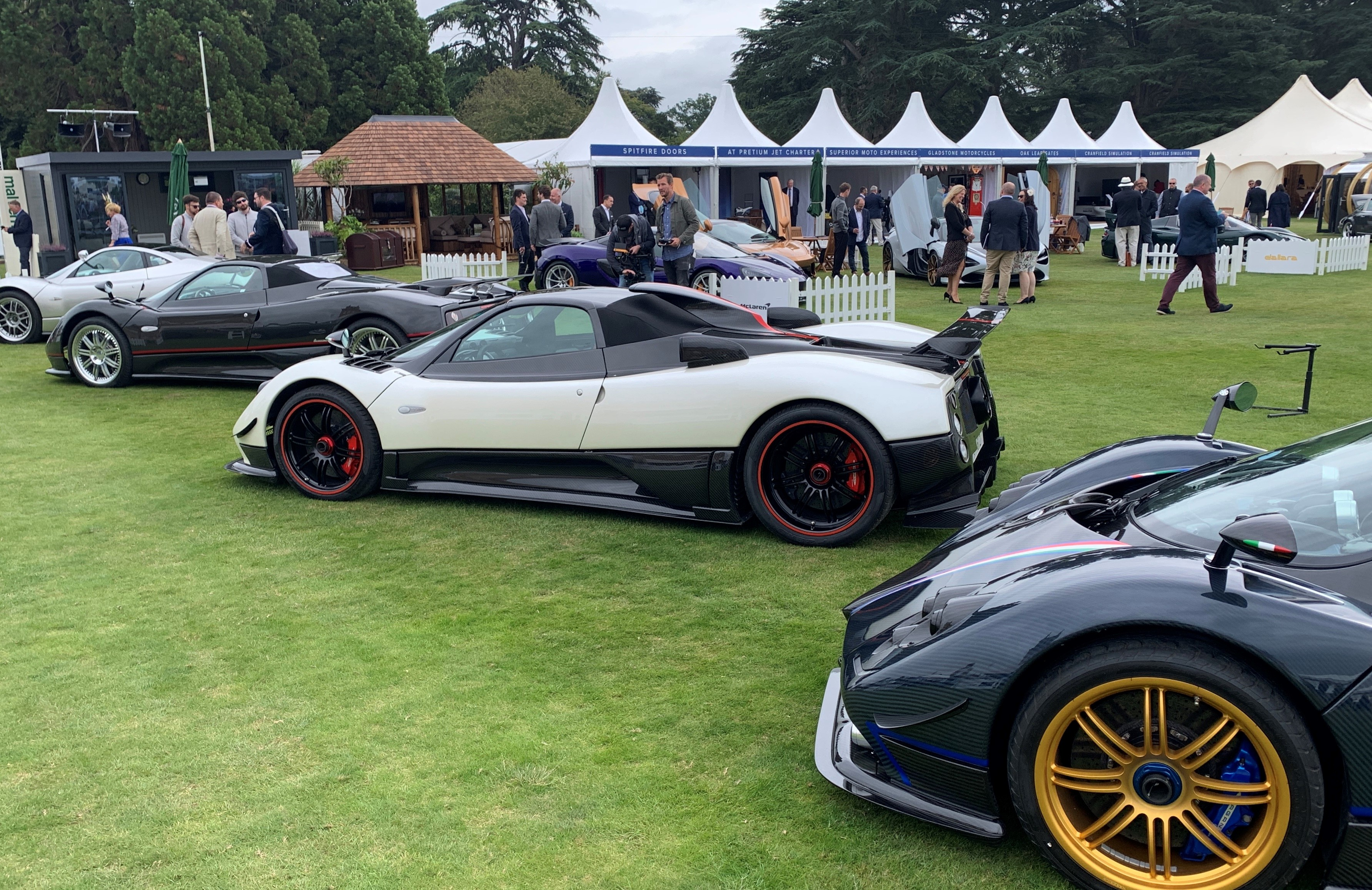 Cars from the Salon Prive day