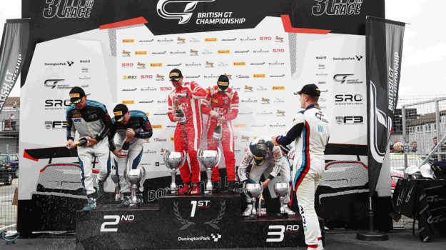 British GT 2019 Podum Place at Donington