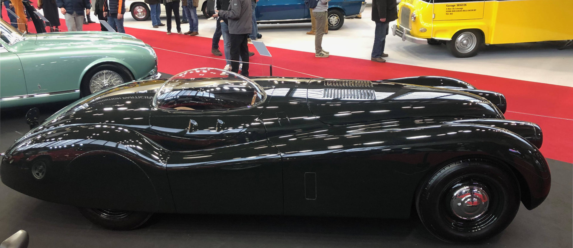 1952 Jaguar XK120 at Retromobile