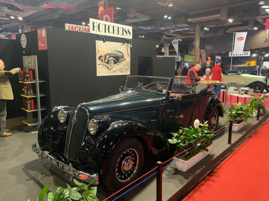 Hotchkiss at Retromobile