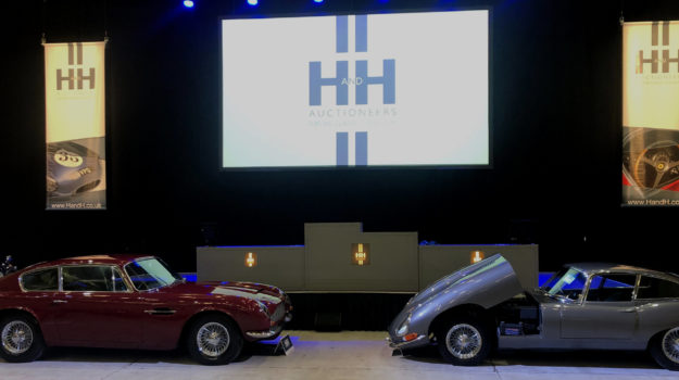 Cars at H+H Auction