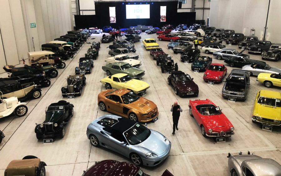 H+H Room full of cars