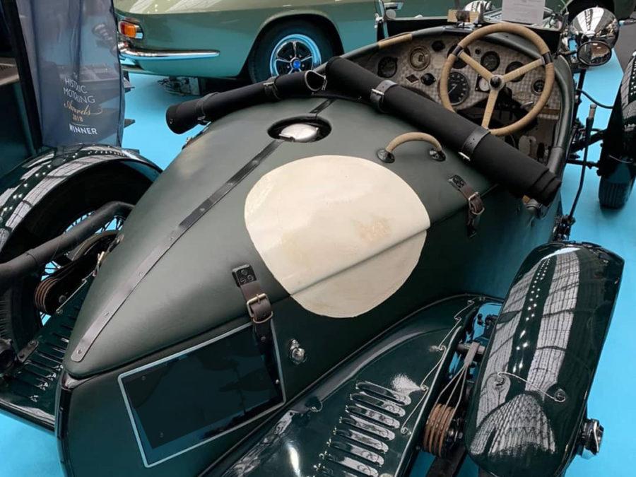 Historic vehicle at London Classic Car Show 2020