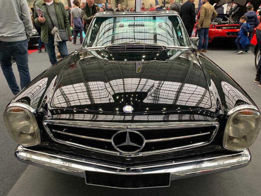 Mercedes at London Classic Car Show 2020