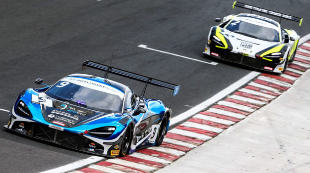 Angus Fender racing at Oulton Park 2020 British GT