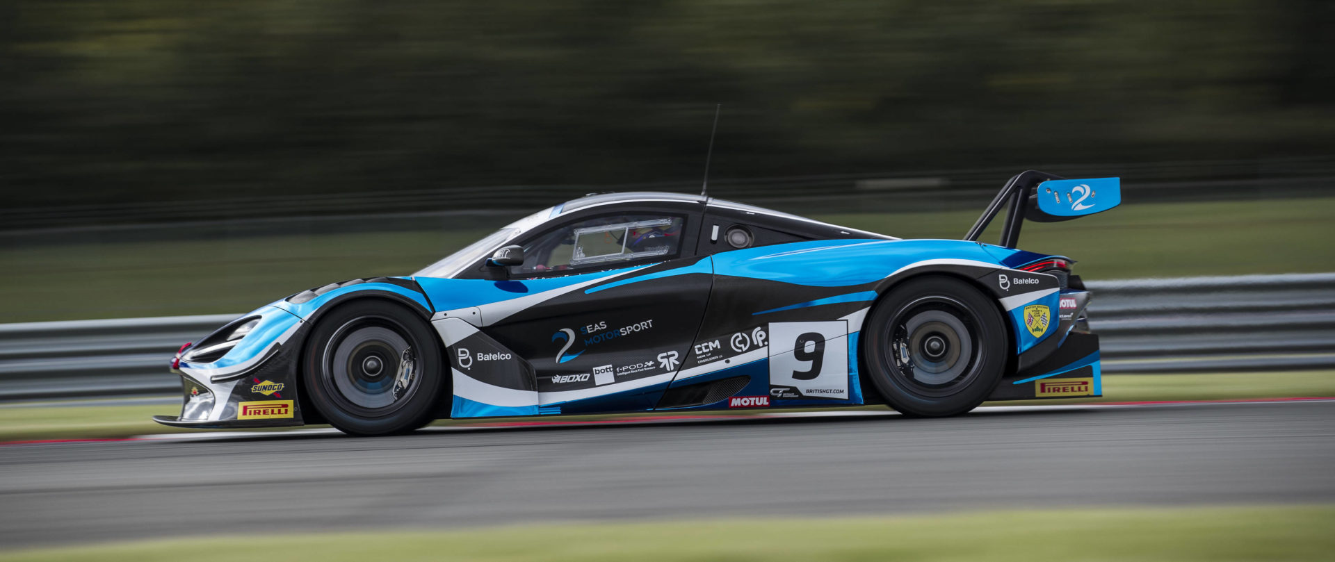 British GT 2020 Angus Fender
