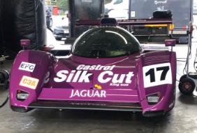 Classic Car Finance: Jaguar race car supercar driver day