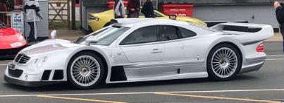 Classic Car Finance: Mercedes at supercar driver day