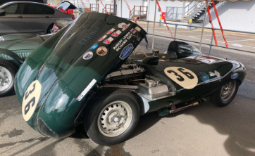Classic Car Finance: Cassic race car at supercar driver day 2020