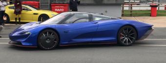 Classic Car Finance: supercar at supercar driver day