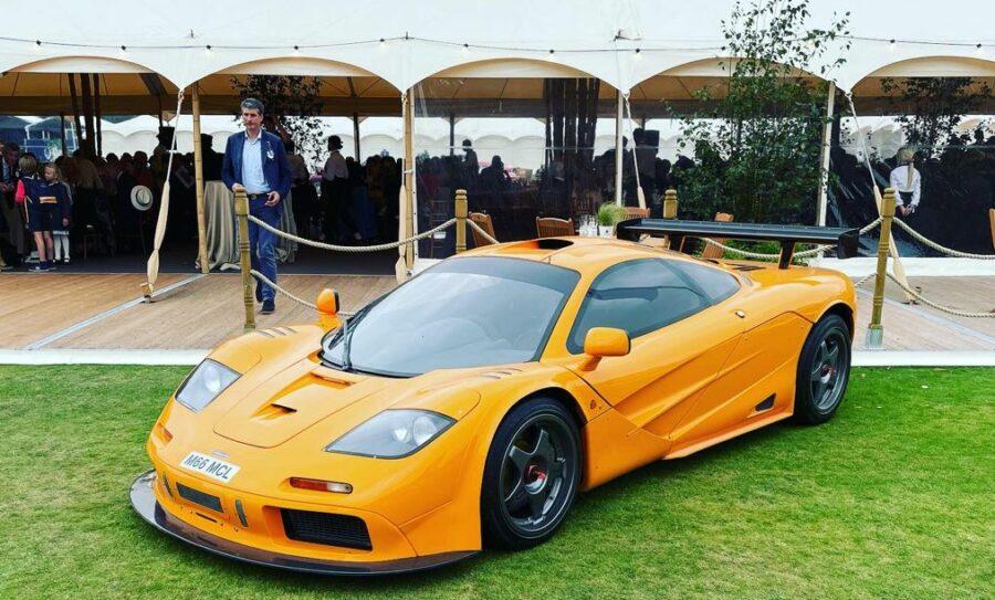 Stunning Car at Salon Privé 2021